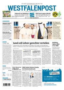 Westfalenpost Wetter - 05. Februar 2019