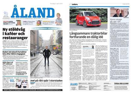 Ålandstidningen – 11 april 2019