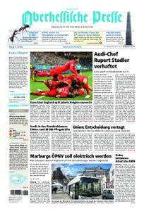 Oberhessische Presse Hinterland - 19. Juni 2018