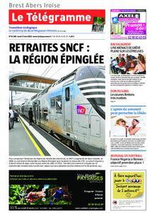 Le Télégramme Brest Abers Iroise – 17 juin 2019