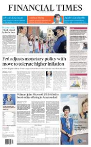 Financial Times Asia - August 28, 2020