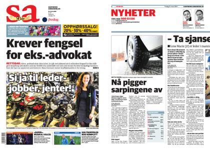 Sarpsborg Arbeiderblad – 22. mars 2019