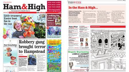 Ham & High – April 08, 2021