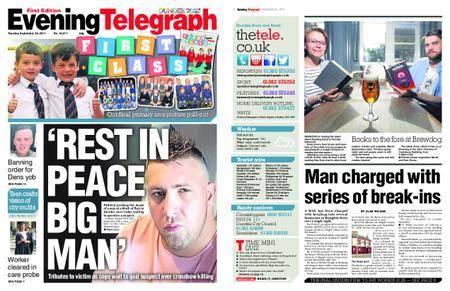 Evening Telegraph First Edition – September 26, 2017