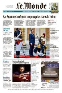 Le Monde du Dimanche 6 et Lundi 7 Mai 2018