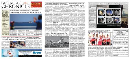 Gibraltar Chronicle – 15 July 2019