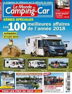 Le Monde du Camping-Car N.296 - Novembre 2017