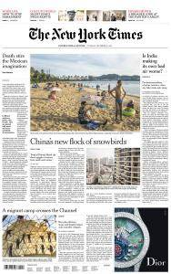 International New York Times - 12 December 2017