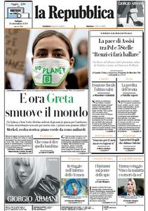 la Repubblica - 21 Settembre 2019