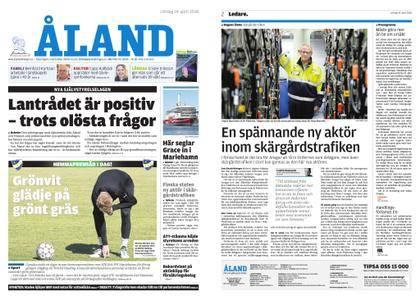 Ålandstidningen – 14 april 2018