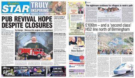 Shropshire Star Last Telford Edition – January 21, 2020