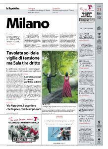 la Repubblica Milano - 21 Giugno 2018