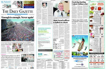 The Daily Gazette – March 25, 2018