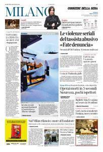 Corriere della Sera Milano - 23 Gennaio 2018