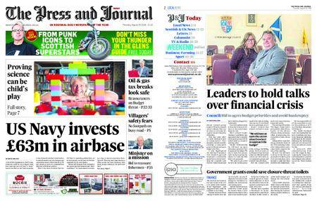 The Press and Journal Moray – August 23, 2018