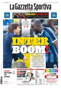 La Gazzetta dello Sport – 22 settembre 2019