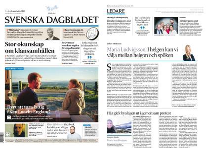 Svenska Dagbladet – 01 november 2019