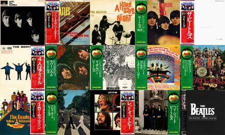 The Beatles: Discography (1963 - 1988) [Vinyl Rip 16/44 & mp3-320] Re-up
