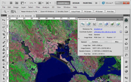 Avenza Geographic Imager for Adobe Photoshop 5.3 (Win/Mac)