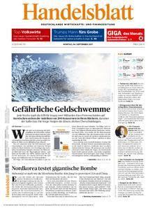 Handelsblatt - 04. September 2017