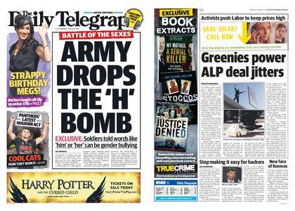 The Daily Telegraph (Sydney) – August 06, 2018