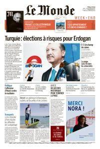 Le Monde du Samedi 23 Juin 2018