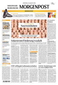 Solinger Morgenpost – 13. August 2019