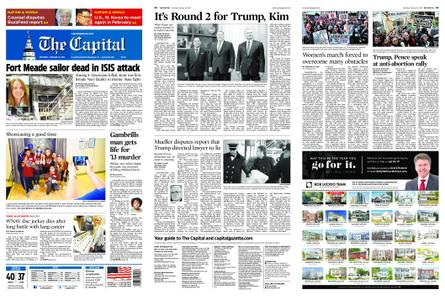 The Capital – January 19, 2019
