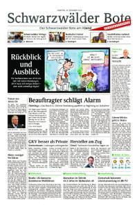 Schwarzwälder Bote Hechingen - 29. Dezember 2018