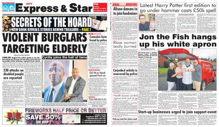 Express and Star City Edition – October 14, 2019