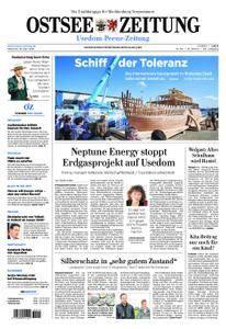 Ostsee Zeitung Wolgast - 18. April 2018