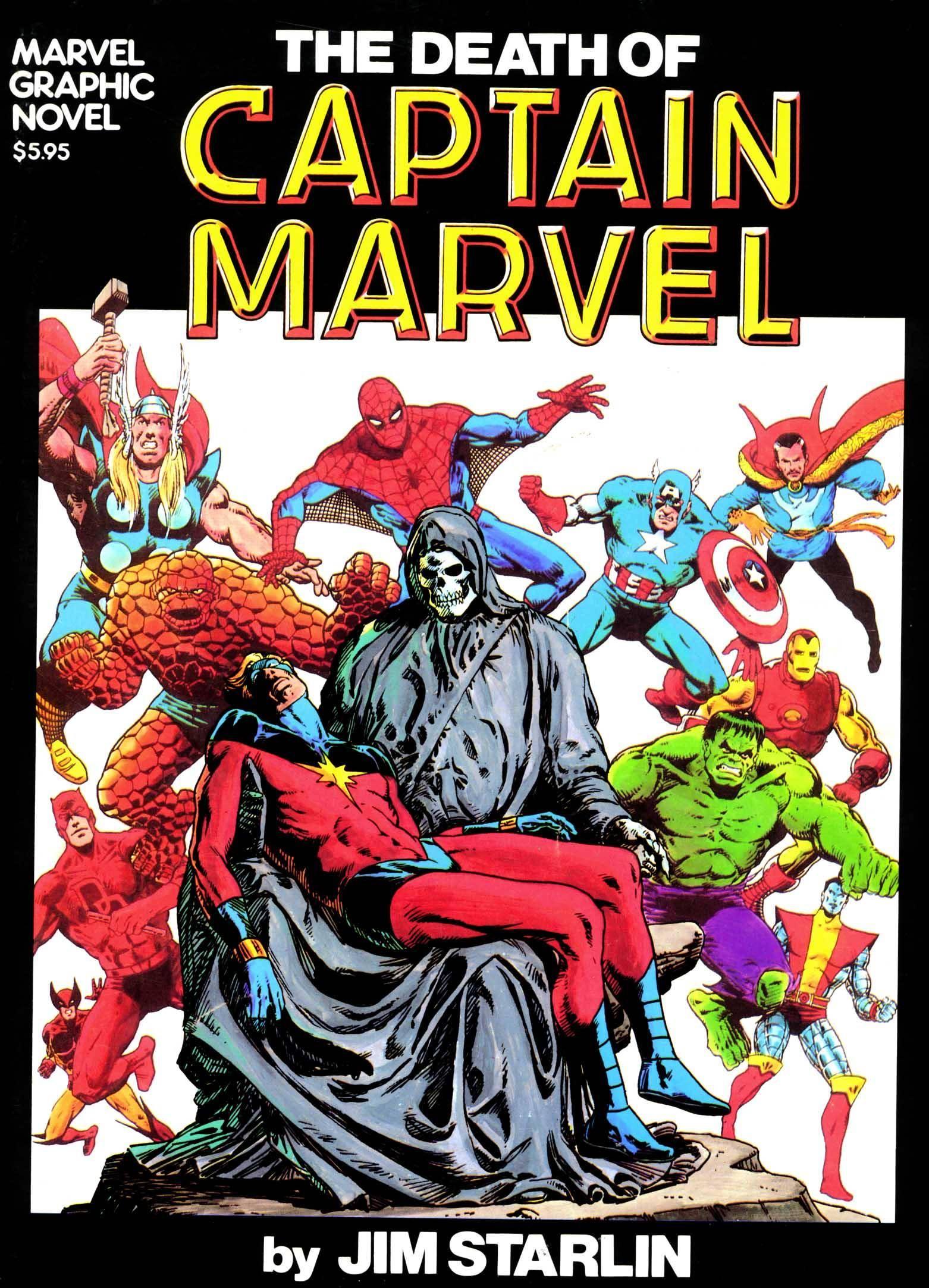 Marvel Graphic Novel 01 - The Death of Captain Marvel 1982