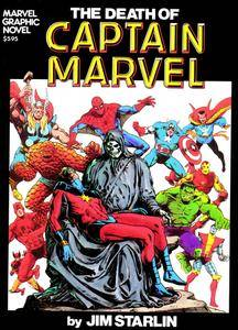 Marvel Graphic Novel 01 - The Death of Captain Marvel 1982