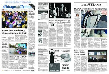 Chicago Tribune – October 02, 2017