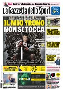 La Gazzetta dello Sport Roma – 16 aprile 2019