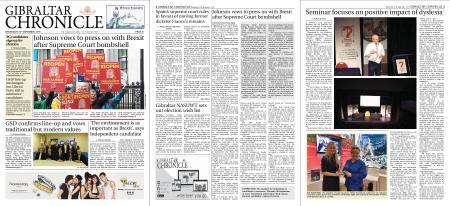 Gibraltar Chronicle – 25 September 2019