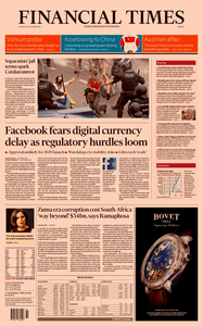Financial Times Europe – 15 October 2019