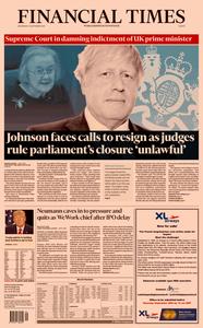 Financial Times Europe – 25 September 2019