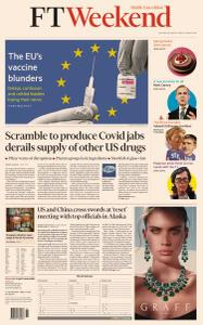 Financial Times Middle East - March 20, 2021