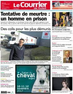 Le Courrier de l'Ouest Cholet - 8 Novembre 2017