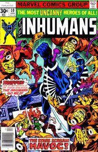 Inhumans v1 10 - Isle of the Asteroid Web