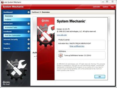 System Mechanic 12.5.0.79
