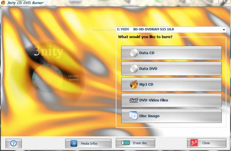 3nity CD DVD Burner 4.1.0.0
