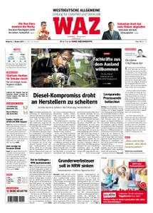WAZ Westdeutsche Allgemeine Zeitung Oberhausen-Sterkrade - 03. Oktober 2018