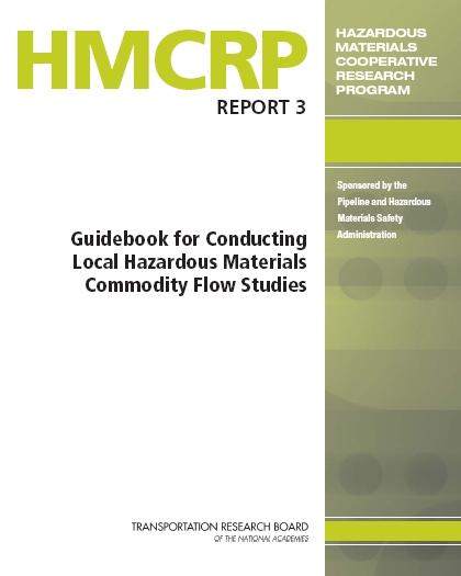 Guidebook for Conducting Local Hazardous Materials Commodity Flow Studies