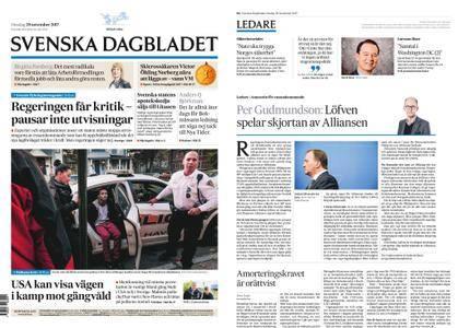 Svenska Dagbladet – 29 november 2017