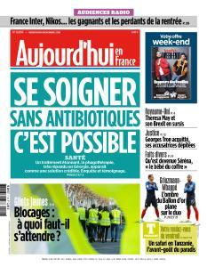 Aujourd'hui en France du Vendredi 16 Novembre 2018