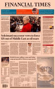 Financial Times Europe – 07 January 2020