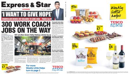 Express and Star Staffordshire Edition – July 09, 2020