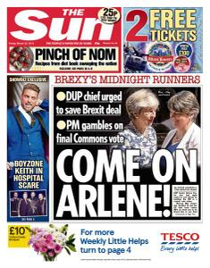 The Sun UK - 29 March 2019